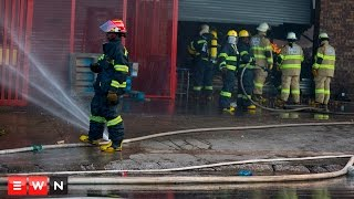 Jumbo Cash & Carry Destroyed By Fire