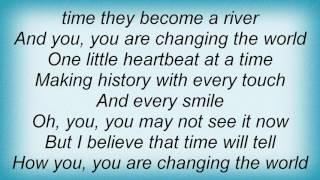 Steven Curtis Chapman - One Heartbeat At A Time Lyrics