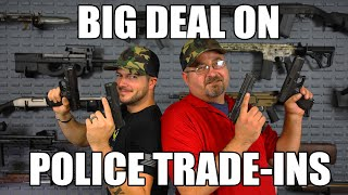 Glock 22 Gen 4 Law Enforcement Trade-in .40 S&W w/ Night Sights - NRA Surplus Good Cosmetic Condition.