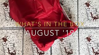 Whats in the Box - August 2019 Edition