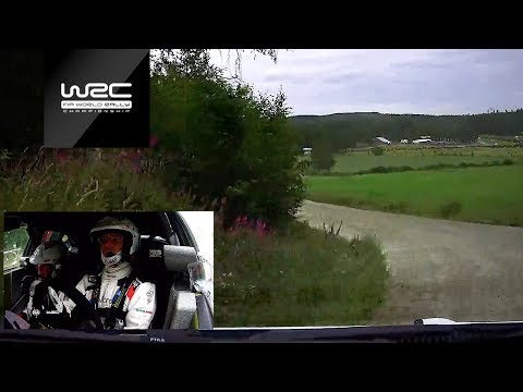 WRC - Neste Rally Finland 2019: ONBOARD Latvala SS06
