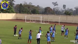 VIDEO ENTRAINEMENT LEOPARDS RD CONGO DU DIMANCHE 8 JANVIER 2017