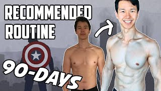 Reddit Bodyweight Fitness Recommended Routine (Updated Version)   90-Day Transformation!