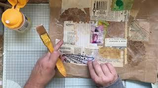 Junk In The Trunk #4 (Brown Packaging) Junk Journal