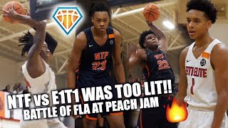 CRAZIEST GAME OF THE YEAR GOES DOWN AT PEACH JAM!! | Tre Mann, Scottie Barnes, Vernon Carey & More!!
