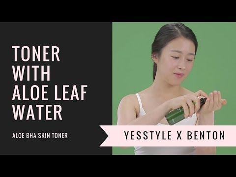 Toner with Aloe Leaf Water | Benton Aloe BHA Skin Toner | YesStyle Korean Beauty