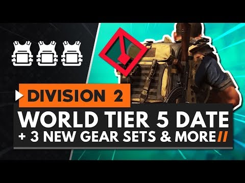 The Division 2 Tidal Basin, World Tier 5 Release Date