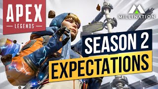 Apex Legends Season 2 Launch Trailer x Animated Trailer Breakdown Map Changes Emotes New Skins