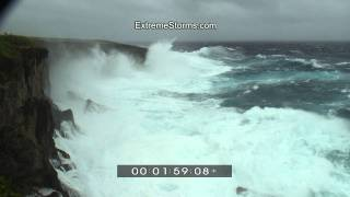 preview picture of video 'Super Typhoon Melor - Banzai Cliff Saipan'