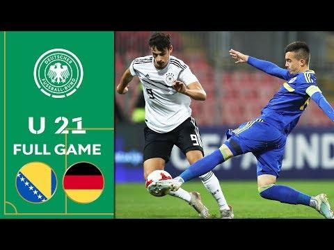 Bosnia and Herzegovina vs. Germany 0-2   Full Match   U 21 Euro Qualifier
