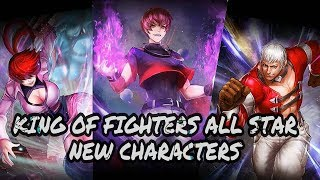 King of Fighters All Star | New Characters Attacks