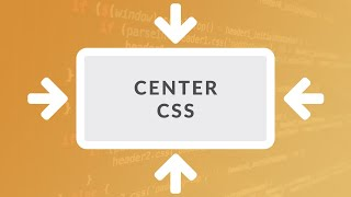 How to Center in CSS - EASY ( Center Div and Text Vertically and Horizontally )