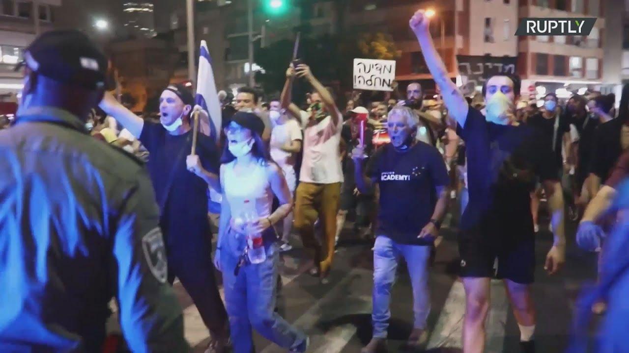 Ισραήλ-Covid-19: Χιλιάδες άνθρωποι στους δρόμους κατά των κυβερνητικών χειρισμών στην πανδημία