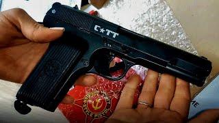 Пневматический пистолет Crosman C-TT 4.5 (Тульский Токарева) от компании ИП Лобацевич Ю. Л. - видео