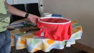 Смотреть онлайн Как сделать пяльца для вышивки крестиком своими руками