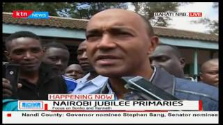 Aspirant Peter Kenneth accuses the Jubilee Elections Board of irregularities