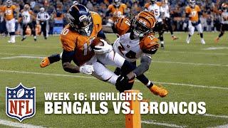 Bengals vs. Broncos | Week 16 Highlights | NFL