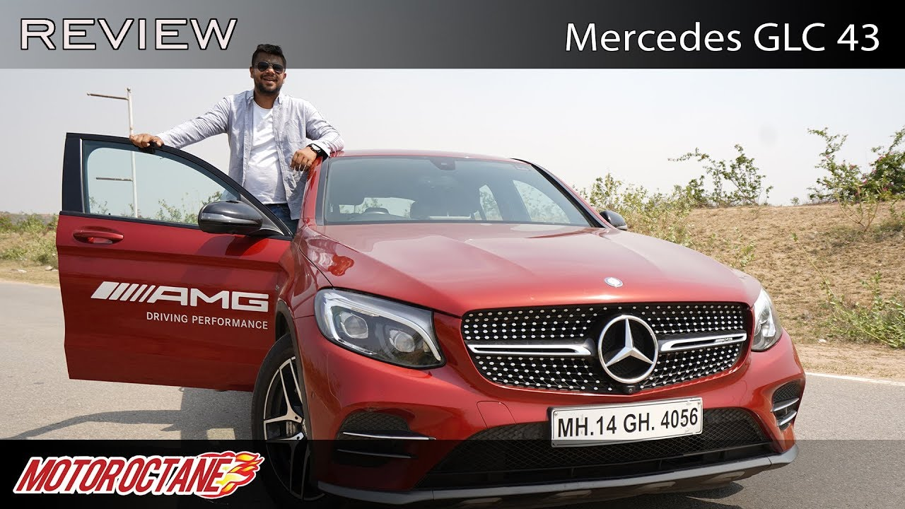 Motoroctane Youtube Video - Mercedes AMG GLC 43 Review - Super fast | Hindi | MotorOctane