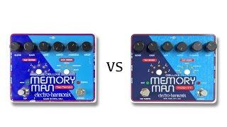 EHX Deluxe Memory Man MN3005 Vs Xvive Chips