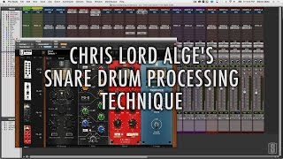 Chris Lord Alge - Snare Drum Mixing Secrets