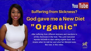 Gods Diet Plan: My Organic Lifestyle (Eating Healthy With God)What God Told Me -Apostle Michelle