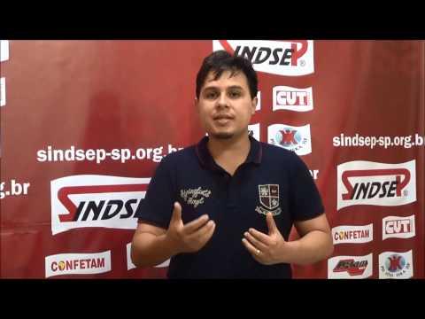 João Gabriel fala sobre os encaminhamentos da  Assembleia  dos trabalhadores da Cultura