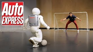 Honda's Asimo: the penalty-taking, bar-tending robot