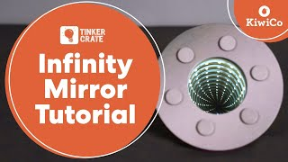 Build An Amazing Infinity Mirror - Tinker Crate