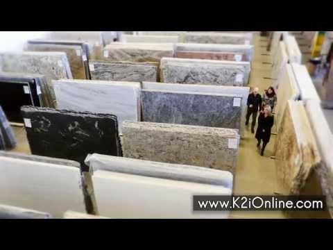 K2 International Granite Marble Specialty Stone Indoor Showroom Montgomery County Pa