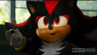 Sonic Movie Shadow Scene - Sonic The Hedgehog (2020) Full Movie Clip HD