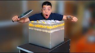NTN - Thử Ăn Thạch Khổng Lồ Nặng 50KG (Eating 50kg giant jelly)