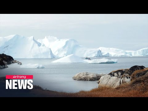 Greenland ice sheets melting nearing a major tipping point