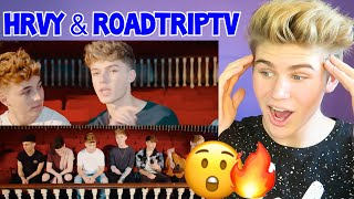 THEY ARE SO GOOD! PERSONAL   HRVY & ROADTRIP (Acoustic) *REACTION* MUST WATCH 2018