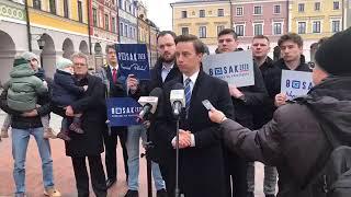 Krzysztof Bosak o 2 mld zł dla TVP, koronawirusie, kobietach, aborcji, roli pierwszej damy etc.