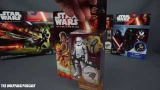 """Star Wars The Force Awakens Flametrooper 3.75"""" Action FIgure Review"""