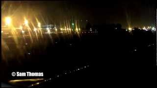 preview picture of video 'Avianca A320-200 night landing at El Dorado International Airport (HD 1080p)'