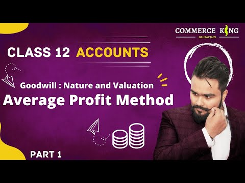 13, Simple average method | Goodwill | nature and valuation