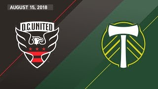 HIGHLIGHTS: D.C. United vs. Portland Timbers | August 15, 2018