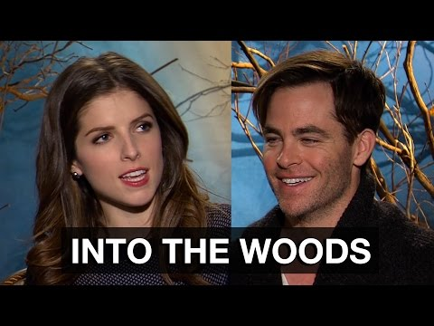 Anna Kendrick & Chris Pine Interview - Into The Woods | MTW
