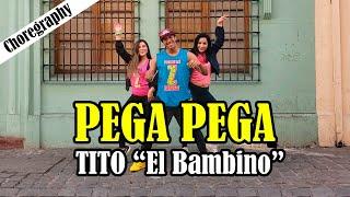 """Pega Pega   Tito """"El Bambino"""" Choreography  Zumba Carlos El Safary"""