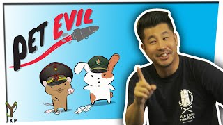 Build Missiles. Destroy Your Friends   Pet Evil Card Game