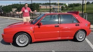 The Lancia Delta Integrale Is the Greatest Hot Hatch Ever Made