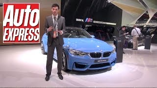 BMW M3 & M4 at the Detroit Motor Show 2014 - Auto Express
