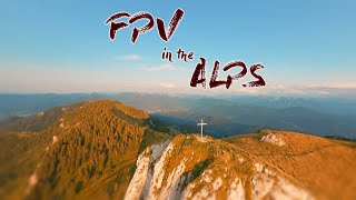 2 Minutes FPV Cliff Diving In The Beautiful Alps