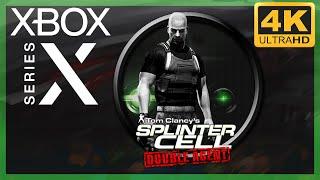 [4K] Splinter Cell : Double Agent (Xbox 360) / Xbox Series X Gameplay