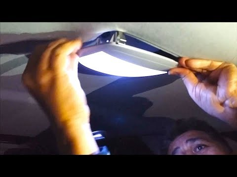 LED Interior Lights Upgrade for Mercedes | W164 | ML Class |  Interior Rear View Mirror LED