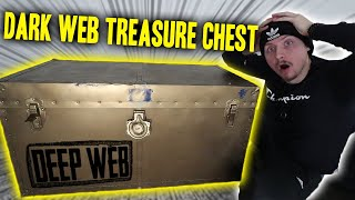 OPENING A TREASURE CHEST FROM THE DARK WEB!! (YOU WON'T BELIEVE WHAT WE FOUND!)