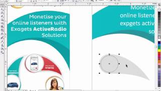 how to make a poster in coreldraw 11 hd Video