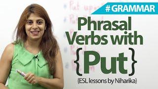 English Grammar Lesson  - Phrasal verbs with 'PUT' ( Learn English) | Kholo.pk