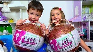 LOL ЧЕЛЛЕНДЖ в СУХУЮ! Позор для девочек! Мальчики ЗНАЮТ толк в куклах /Куклы ЛОЛ/ L.O.L Challenge
